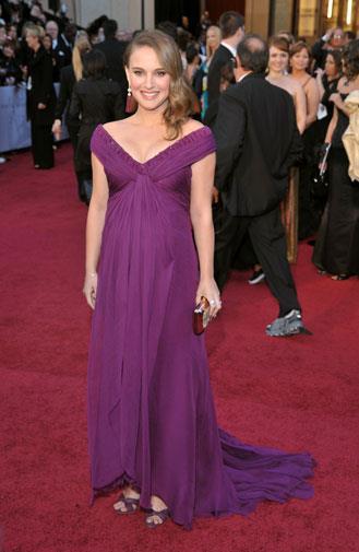 Natalie Portman in Rodarte in 2011.
