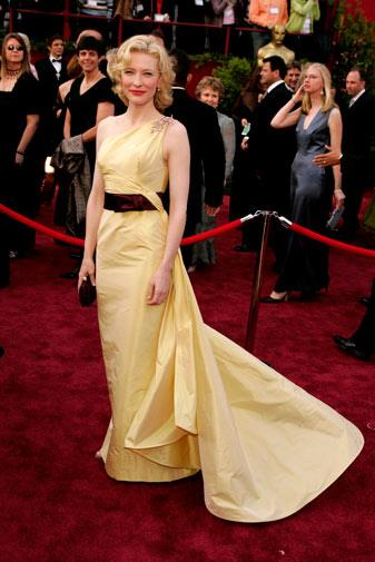 Cate Blanchett in Valentino Couture in 2005.