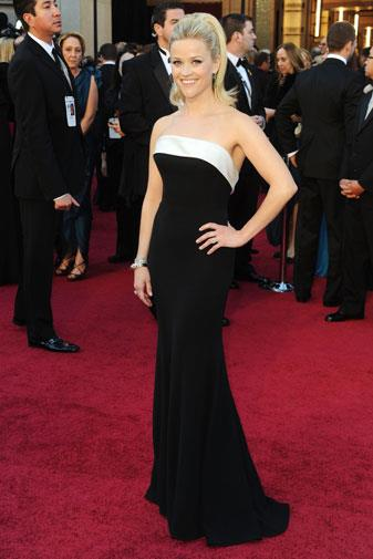 Reese Witherspoon in Armani Prive in 2011.