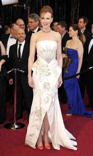 Nicole Kidman in Christian Dior in 2011.