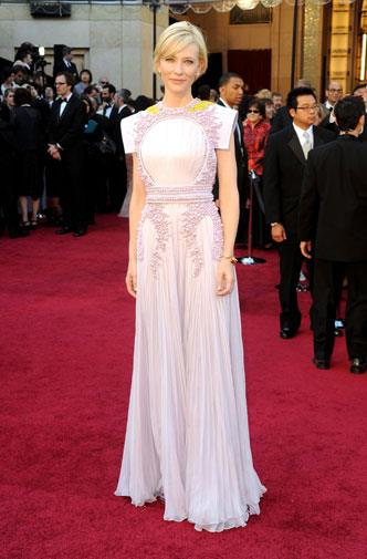 Cate Blanchett in Givenchy haute couture in 2011.