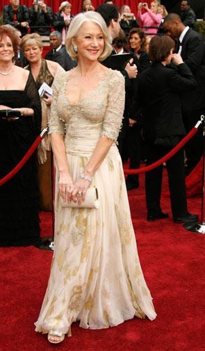 Helen Mirren in Christian Lacroix in 2007.