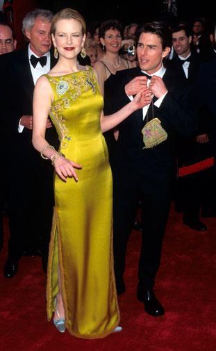 Nicole Kidman in John Galliano for Dior in 1996.