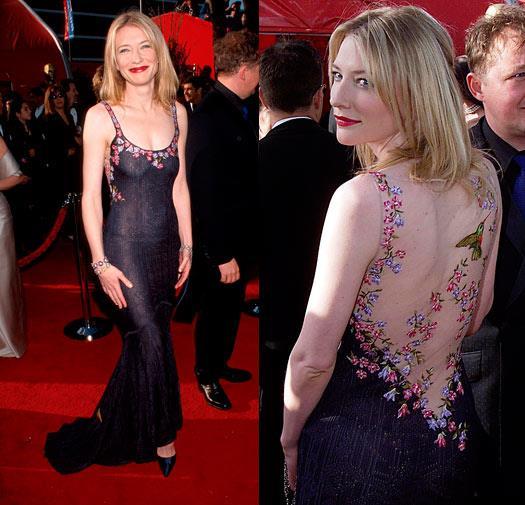 Cate Blanchett in John Galliano in 1999.