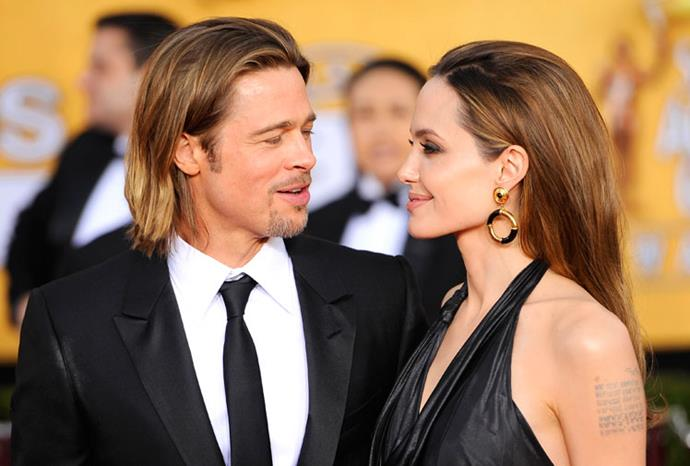 Brad Piit and Angelina Jolie have been seen sporting similar hairstyles.