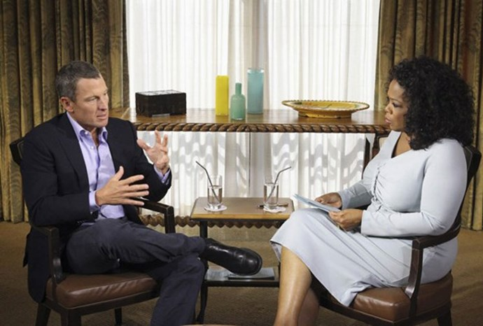 Lance Armstrong confessed to using drugs and lying about it.