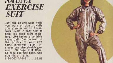 Hilarious retro exercise equipment