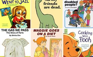 Parental guidance required: Strangest kids' books