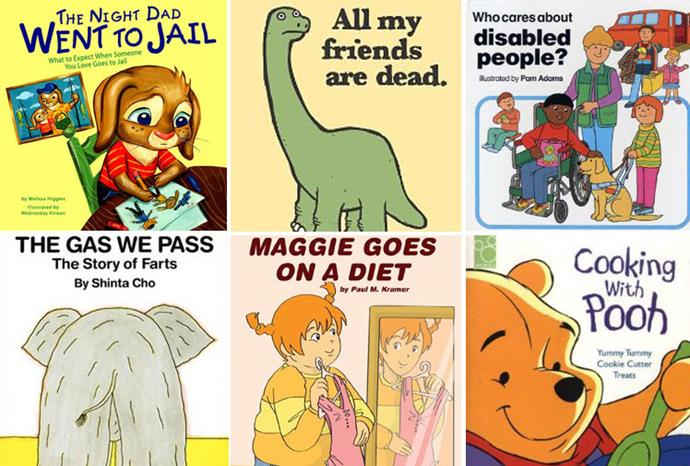 Some of the more bizarre children's titles published.