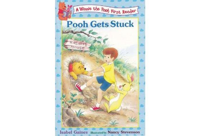 Pooh Gets Stuck.