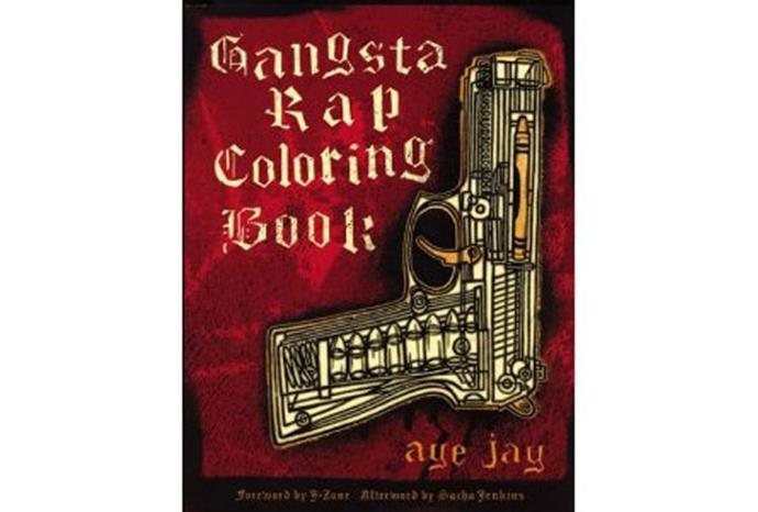 Gangsta Rap Coloring Book (sic).