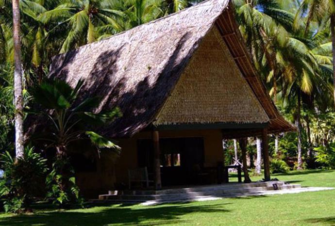 A bungalow at Tavanipupu Island Resort.