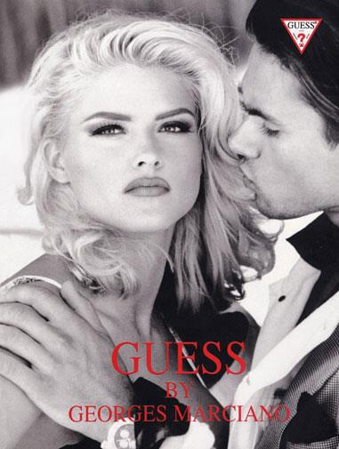 One of Anna Nicole Smith's campaigns for Guess.