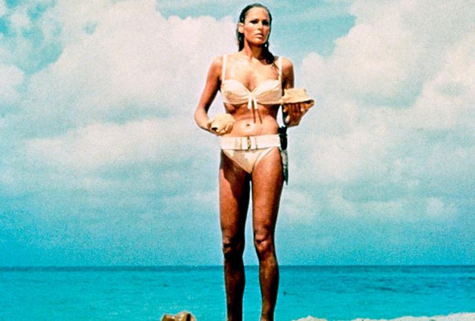 Ursula Andress as Honey Ryder in *Dr. No*