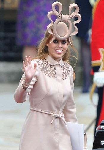 Beatrice's infamous royal wedding hat.