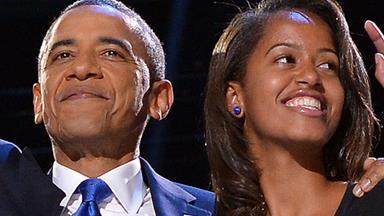 Mini-Michelle: Malia Obama growing up fast