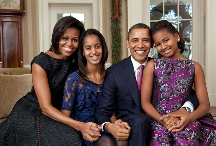 The Obamas in 2011.