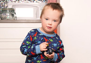 Seb White signed as youngest Down Syndrome model