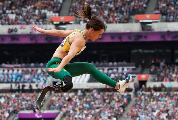 Kelly Cartwright won gold in the women's long jump.