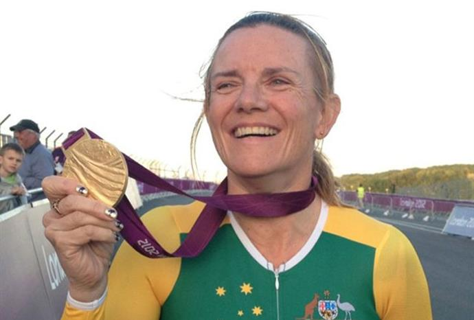 Carol Cooke won gold in the mixed individual time trials.