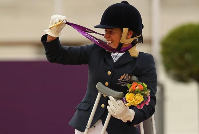 Joann Formosa picked up Australia's first equestrian gold since 2000.