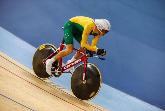 David Nicholas claimed gold in the men's individual time trial.