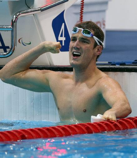 Swimmer Blake Cochrane set another world record in 100m breaststroke.