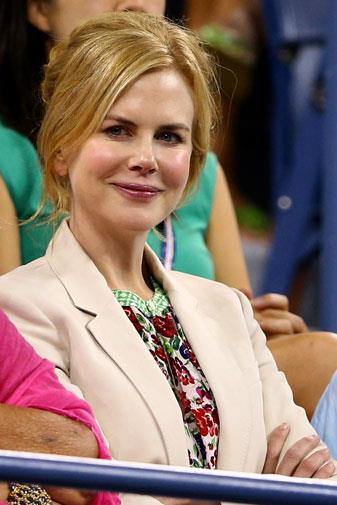 Nicole looked lovely at the sporting event.
