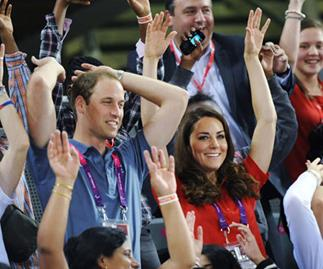 Harry who? Loved-up Will and Kate ignore scandal