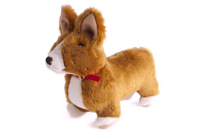 The toy corgi sells for $95.