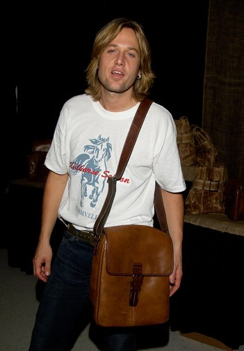 Keith with very blonde locks in 2002.