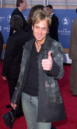 At the Grammy Awards in 2001.