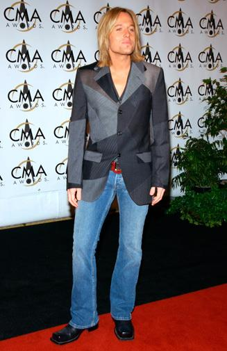 At the Country Music Awards in 2002.