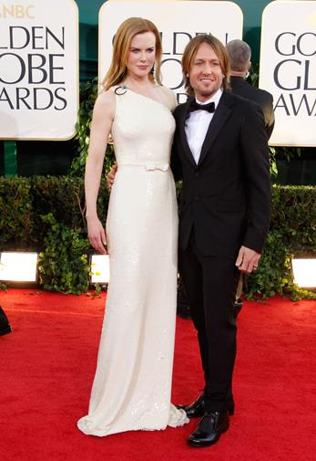 The couple at the 2011 Golden Globes.