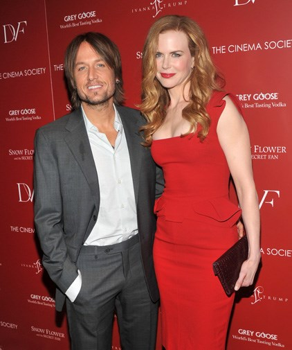 Keith and Nicole in July 2011.