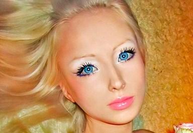 The real-life Russian Barbie doll, Valeria Lukyanova