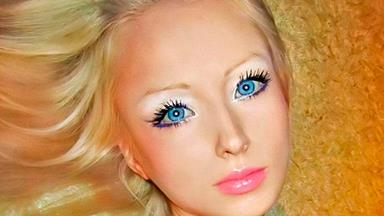 The real-life Russian Barbie doll, Valeria Lukyanova
