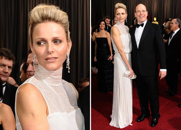 Prince Albert and Princess Charlene of Monaco.