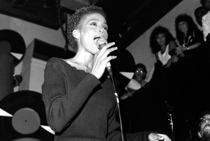 Whitney started performing in nightclubs aged 14.