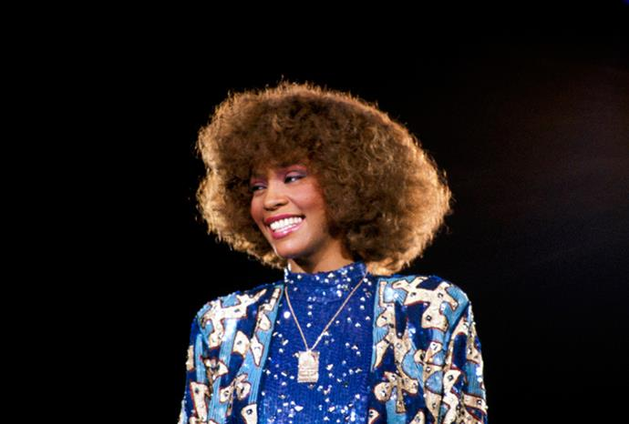 A young Whitney in 1988.