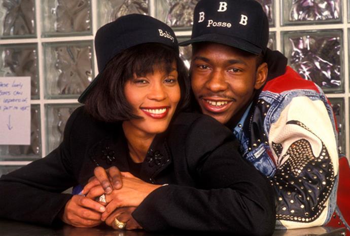 Whitney married singer Bobby Brown in 1992.