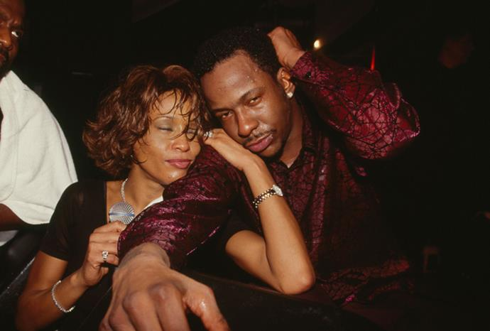 Whitney and Bobby looking worse for wear in 2000.