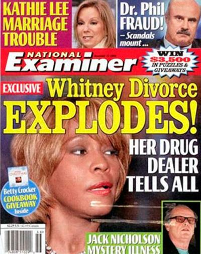 Whitney and Bobby's tumultuous marriage came to an end in 2007.