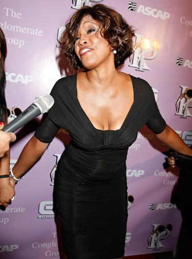 Whitney reportedly began abusing alcohol again in 2009.