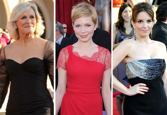 Glenn Close, Michelle Williams, Tina Fey