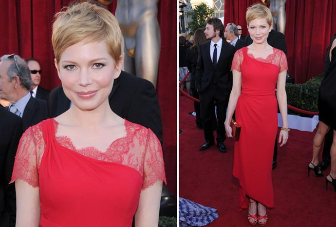 *My Week with Marilyn* star Michelle Williams in Valentino.