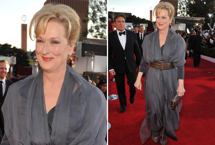 *The Iron Lady* star Meryl Streep.