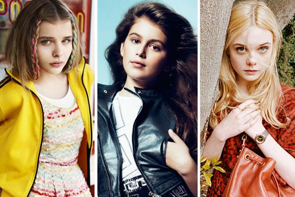 Baby beauties: Is ten too young to model?