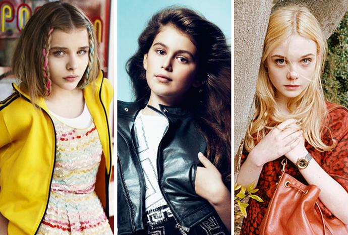 Are these girls too young to be fashion models?