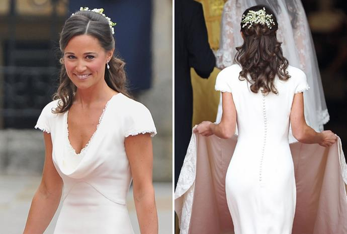 Pippa Middleton's Alexander McQueen bridesmaid dress made her (and her bum) famous.